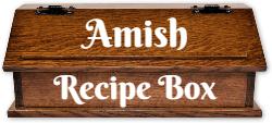 Amish Recipe Box